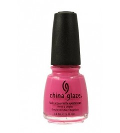 CHINA GLAZE - Vernis à Ongles Collection Ink - SHOCKING PINK